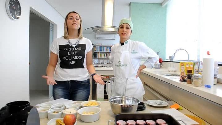 Nutricionista ensina a fazer cupcakes saudáveis