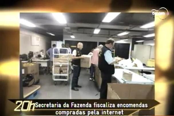 TVCOM 20h - Secretaria da Fazenda fiscaliza compras feitas pela internet - 13.12.14