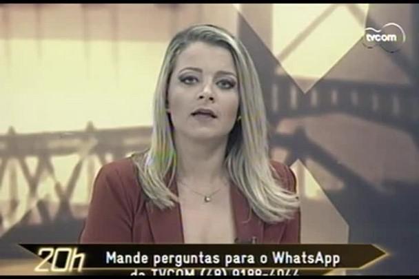 TVCOM 20 Horas - Inúmeras quedas de energia incomodam moradores de Santa Catarina - 12.02.15