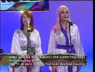 Programa do Roger - The Super Troupers Abba Tribute Show - Bloco 4 - 13/04/15