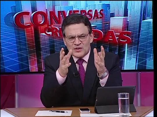 Conversas Cruzadas - Debate sobre a escolha do novo minisitro do STF - Bloco 1 - 17/04/15
