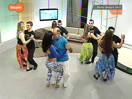TVCOM Tudo Mais - \'Dança Comigo\' a liberdade do estilo merengue