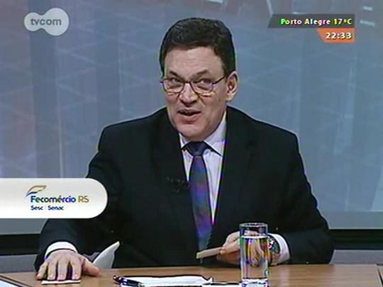 Conversas Cruzadas - Debate sobre o aumento do ICMS e a crise financeira no Rio Grande do Sul - Bloco 3 - 27/08/2015