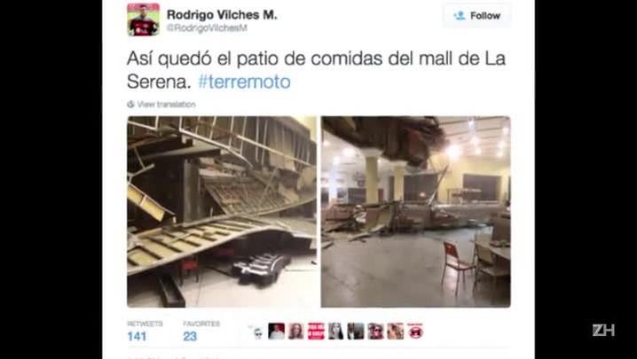 Terremoto atinge o Chile na noite desta quarta-feira