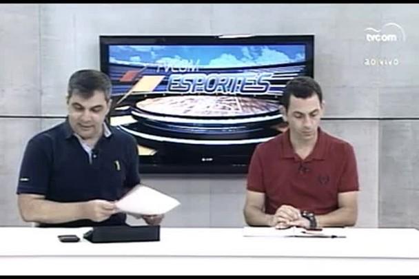 TVCOM Esportes. 1º Bloco. 10.03.16