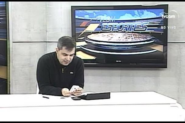 TVCOM Esportes. 3º Bloco. 25.05.16