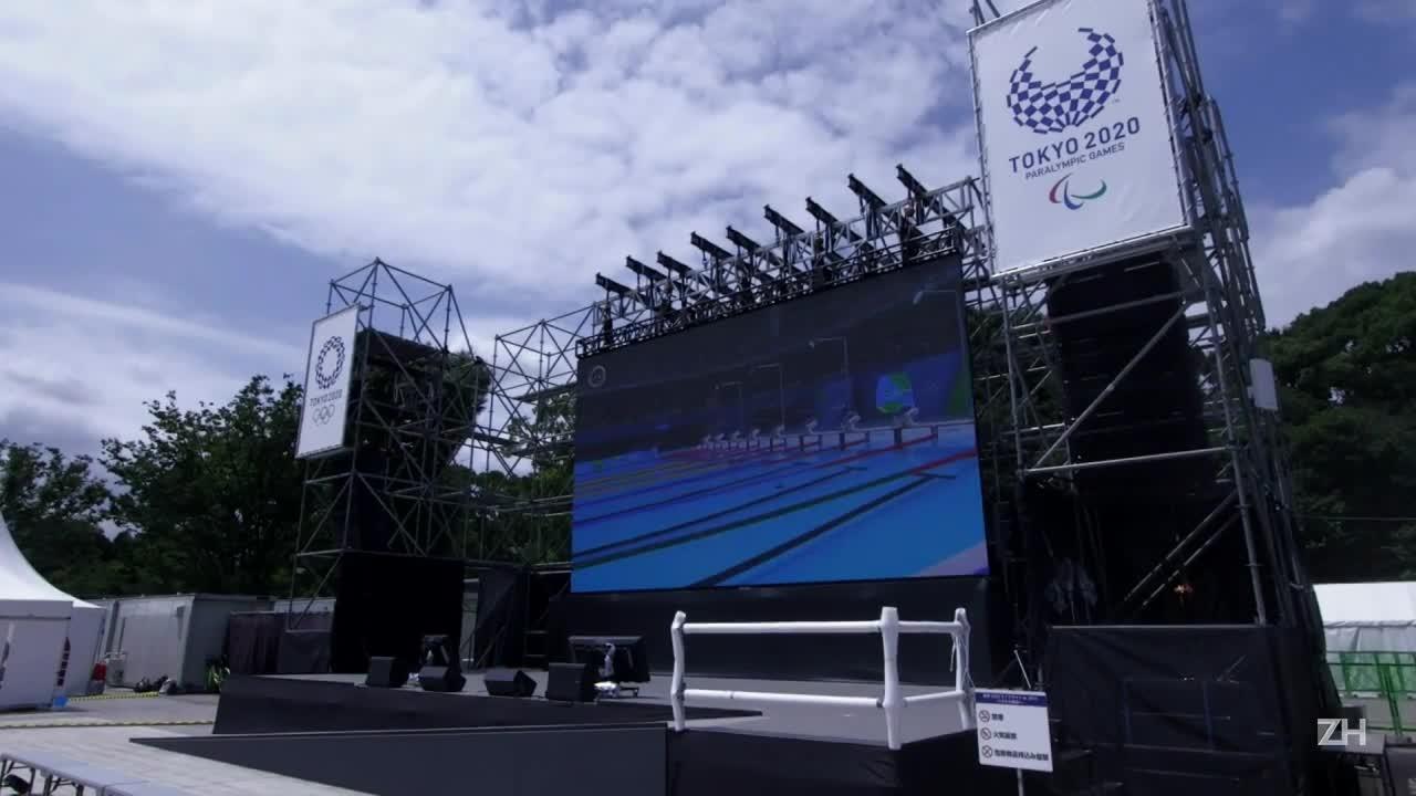 Japoneses se animam com Tóquio 2020