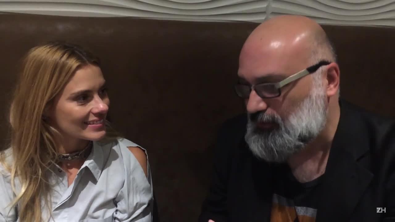 """Em conversa com Roger Lerina, Carolina Dieckmann fala sobre seu novo filme \""""O silêncio do céu\"""""""