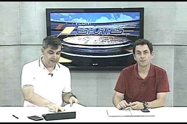 TVCOM Esportes. 3º Bloco. 01.09.16
