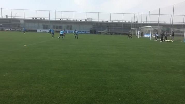 Grêmio treina em preparação para confronto com a Chapecoense