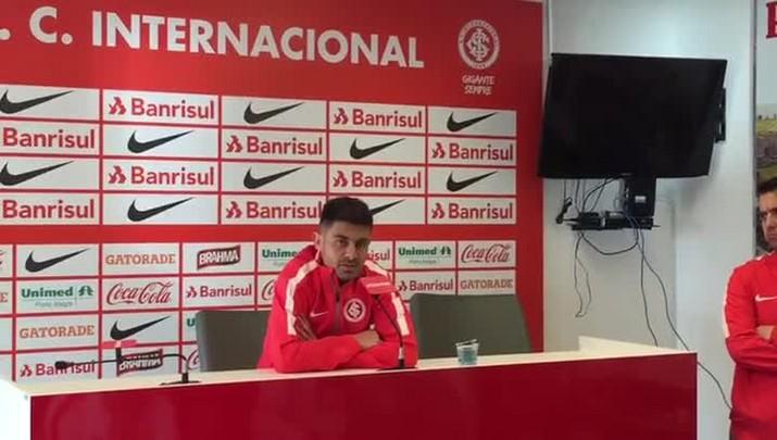Alex fala sobre situação complicada do Inter
