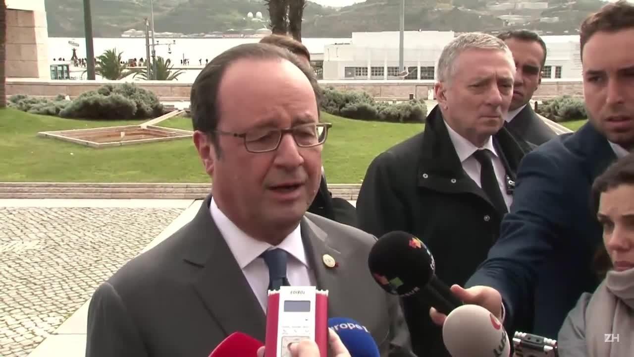Hollande pede que UE apresente resposta a Trump