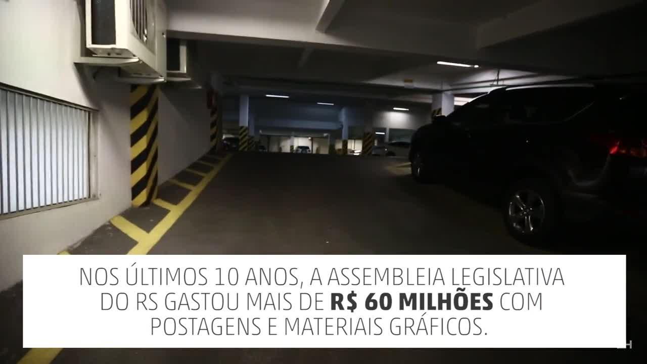 Desperdício na Assembleia Legislativa do RS