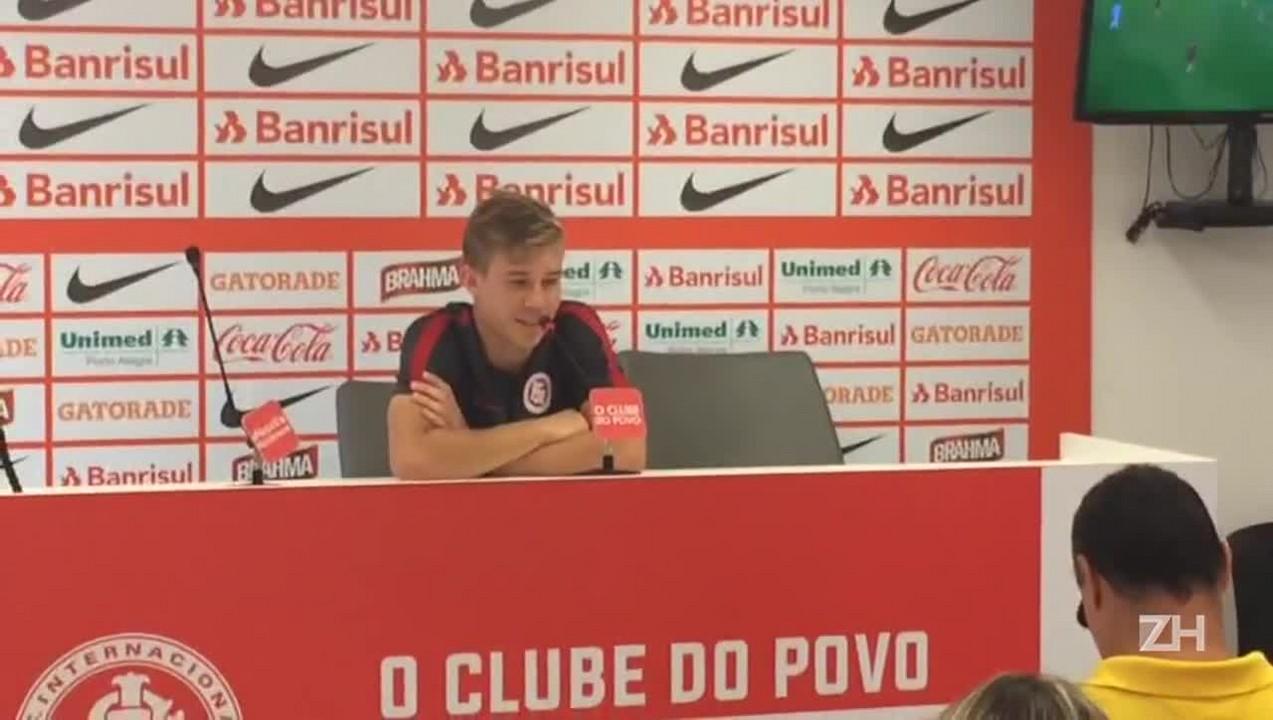 Charles garante estar preparado para primeiro Gre-Nal pelo Inter
