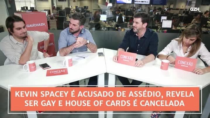 Conexão GaúchaZH: Kevin Spacey é acusado de assédio, revela ser gay e House of Cards é cancelada