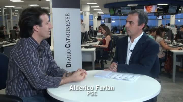 Vereadores eleitos da Capital - Entrevista com Alderico Furlan