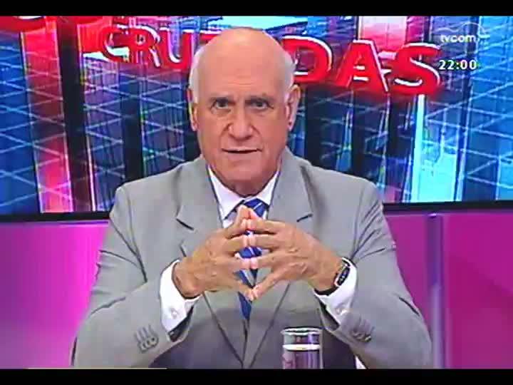 Conversas Cruzadas - Trocas no ministério da Dilma Rousseff, Reforma Política e situação financeira do Estado - Bloco 1 - 05/04/2013