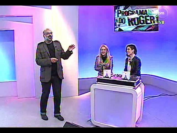 Programa do Roger - Deborah Blando e Vivi Seixas participam do programa - bloco 2 - 08/05/2013