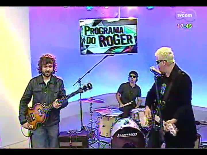 Programa do Roger - Acústicos e Valvulados e Identidade falam sobre o DVD 3x Rock - bloco 1 - 25/06/2013