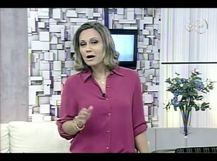 TVCOM Tudo Mais - Quadro Saúde e Beleza - 1º Bloco – 28-08-2013