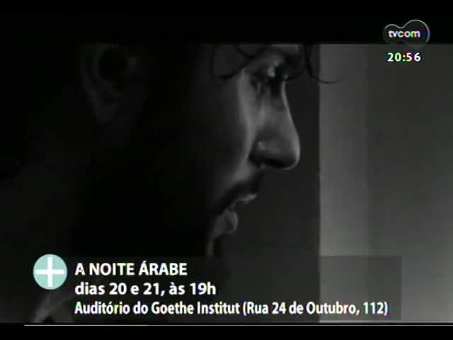 """TVCOM Tudo Mais - Prêmio Braskem em Cena apresenta \""""A noite árabe\"""""""