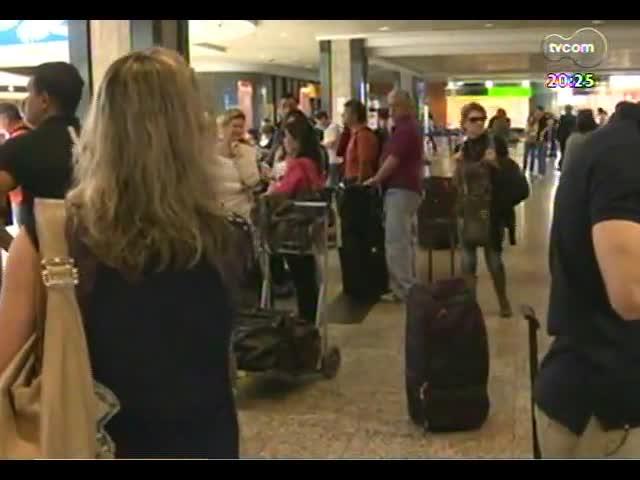 TVCOM 20 Horas - Tudo sobre o primeiro vôo direto POA-Miami - Bloco 3 - 22/11/2013