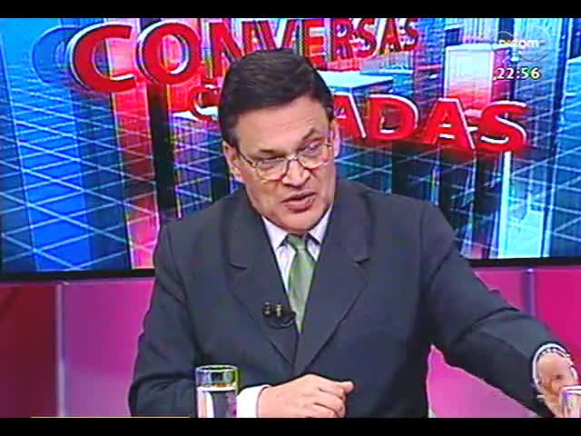 Conversas Cruzadas - Os deputados condenados pelo mensalão vão perder os mandatos? - Bloco 3 - 22/11/2013