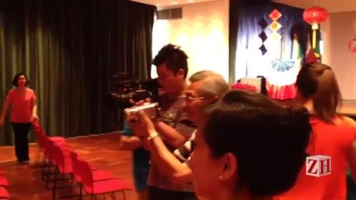 Comunidade taiwanesa de SP realiza cerimônia de despedida para Iruan