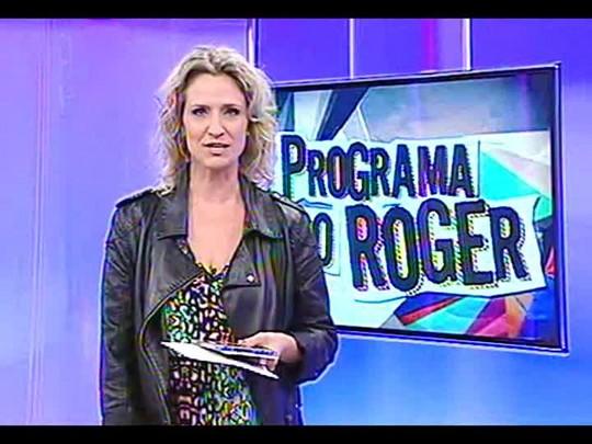 Programa do Roger - Um bate papo e a música de Tonho Crocco - Bloco 2 - 09/01/2014