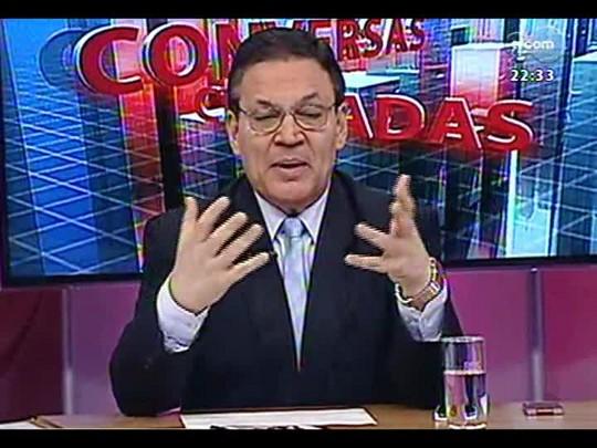 Conversas Cruzadas - Debate sobre o financiamento de campanha eleitoral - Bloco 2 - 04/04/2014