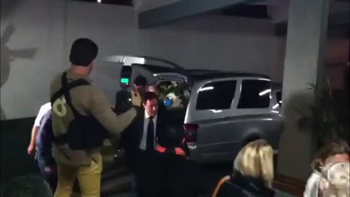 Corpo de Bernardo Boldrini é velado em Santa Maria. 16/04/2014