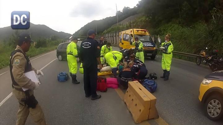 Colisão entre moto e carro deixou uma morte e uma vítima com fraturas