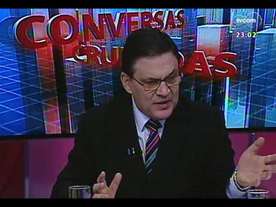 Conversas Cruzadas - A insatisfação e a necessidade de mudança da categoria dos policiais - Bloco 3 - 31/07/2014