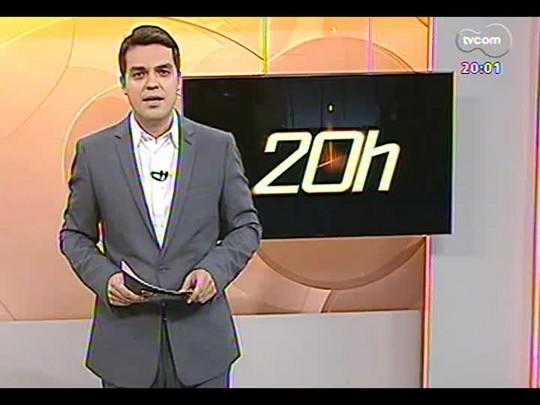 TVCOM 20 Horas - Entrevista com o candidato a governador Vieira da Cunha do PDT - Bloco 1 - 04/08/2014