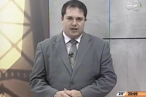 TVCOM 20 Horas - Terceira onda de ataques assusta populção de SC - 1º Bloco - 30/09/14