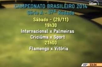 Bate Bola - Os Próximos Jogos da Série A - 5ºBloco - 23.11.14