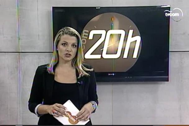 TVCOM 20h - Recém-nascida é encontrada viva em túmulo de cemitério de Lages - 3.2.15