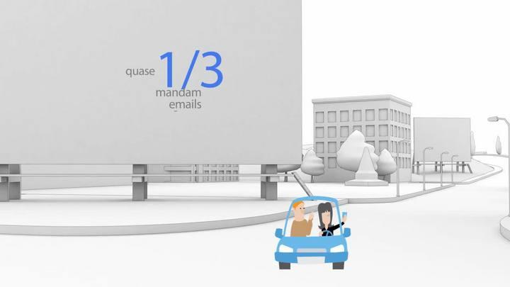 Conheça os riscos de usar o celular enquanto dirige