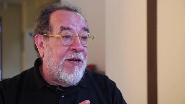 Fernando Morais: primeira vez em Floripa
