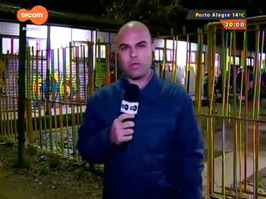 TVCOM 20 Horas - Moradores das ilhas de Porto Alegre em alerta após nível do Lago Guaíba passar limite de segurança - 21/07/2015