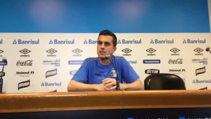 Marcelo Grohe fala sobre situação de Tiago