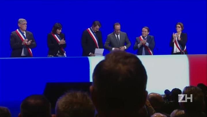 Hollande pede a população que não ceda ao medo