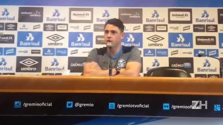 Giuliano fala sobre seu novo posicionamento no Grêmio