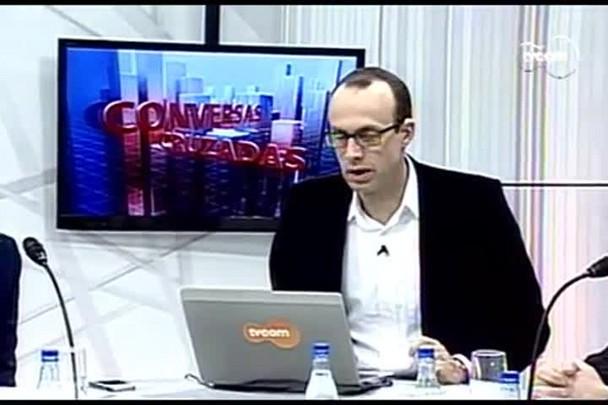 TVCOM Conversas Cruzadas. 4º Bloco. 23.08.16