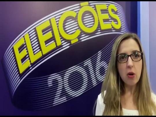 Carolina Wanzuita comenta debate do segundo turno das eleições em Joinville