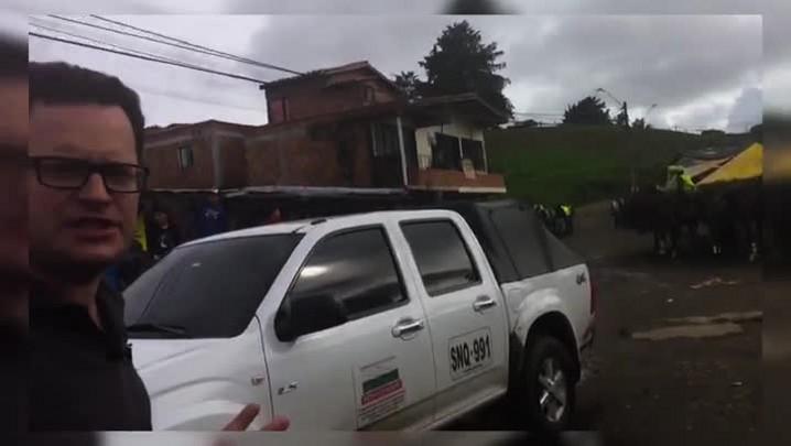 Povoado La Unión é o mais próximo do local da tragédia na Colômbia