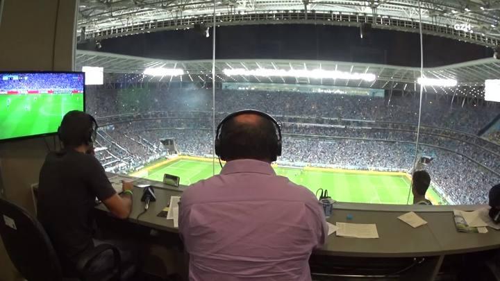 Bastidores da Cabine: Grêmio x Barcelona-EQU