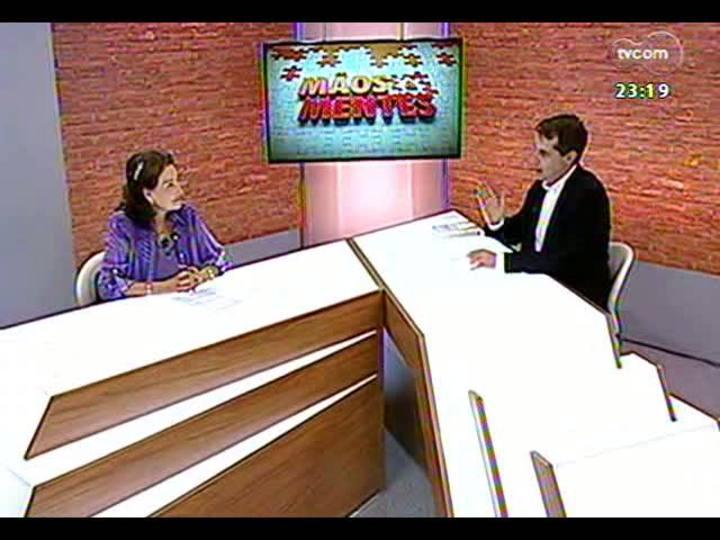 Mãos e Mentes - Presidente-executiva da Parceiros Voluntários, Maria Elena Johannpeter - Bloco 1 - 23/01/2013