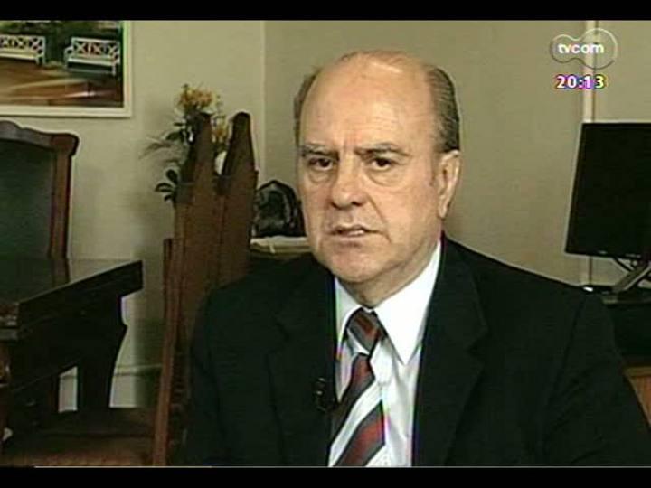 TVCOM 20 Horas - Entrevista com o prefeito de Santa Maria, Cezar Schirmer - Bloco 2 - 27/02/2013