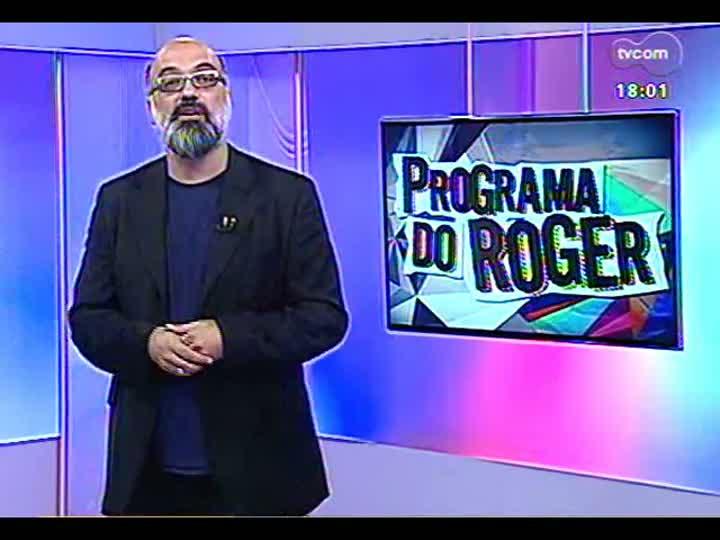 Programa do Roger - Entrevista com a representante do Ministério da Cultura, Margarete Moraes, sobre o Vale Cultura - bloco 2 - 18/04/2013